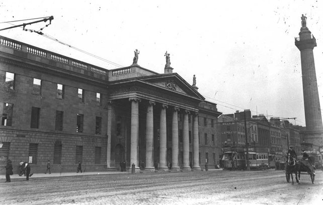 The GPO O'Connell Street (1916)