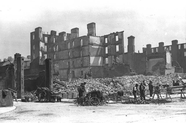 Destruction of the King's Inns (1916)