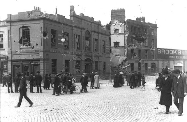 Destruction of Liberty Hall (1916)