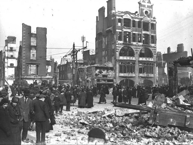 The Dublin Bread Company, after the Easter Rising (1916)