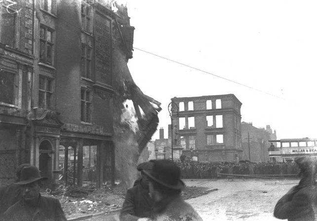 Mansfield's Corner after the Easter Rising (1916)