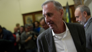 Johan Cruyff was diagnosed with lung cancer last October