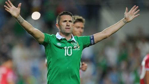 Robbie Keane will miss Friday's friendly against Switzerland