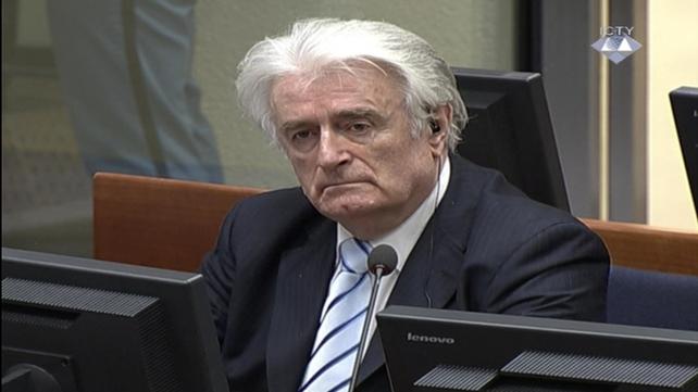 Radovan Karadzic was sentenced to 40 years in jail