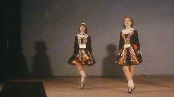 Irish Dancing Championships in Limerick (1986)
