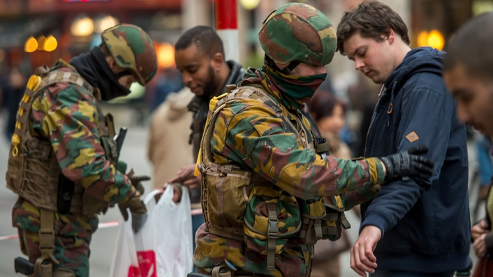 Six arrested in Brussels during series of police operations