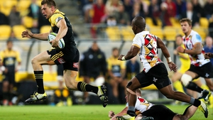 A Super Rugby match between the Hurricanes and the Kings at Westpac Stadium, New Zealand