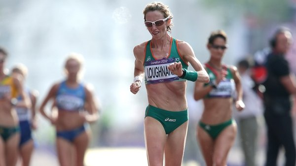 Olive Loughnane in action during the Women's 20km Race Walk at the 2012 London Games