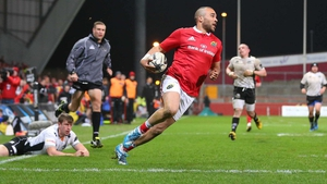Simon Zebo is unlikely to play again until October