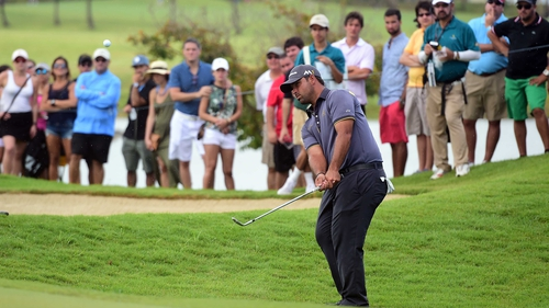 Rafael Campos leads at the Puerto Rico Open at Coco Beach