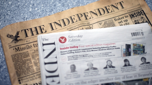The first and final editions of the newspaper