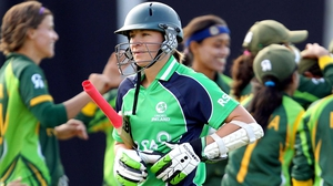 Clare Shillington hit 36 from 37 deliveries but the rest of Ireland's batting order failed to deliver