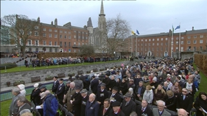 700 relatives of 78 people who died during the Rising attended the ceremony