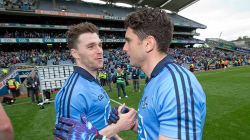 Paddy Andrews and Bernard Brogan return to the Dublin attack for Donegal clash