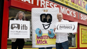 Mattress Men - (L-R Michael 'Mattress Mick' Flynn, Brian 'The Mattress Man' Traynor and Paul Kelly) - Hot Docsfestival has bedroom eyes for new documentary
