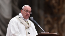 Pope welcomed France's new envoy after position left vacant for 18 months