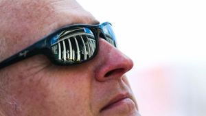 The GPO is reflected in a spectator's sunglasses