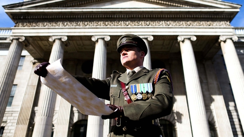 State Commemoration of the 1916 Easter Rising: Main Ceremony