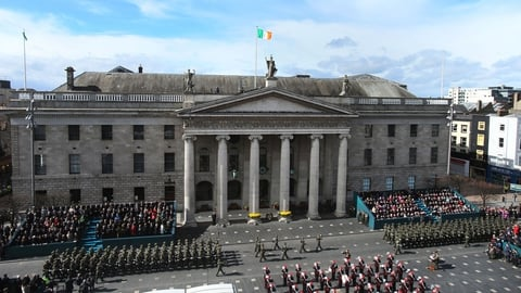 The State Commemoration Of The 1916 Rising