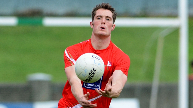 Declan Byrne was on the scoresheet as Louth secured promotion