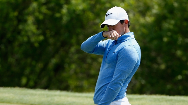 Rory McIlroy was defeated by Jason Day at the WGC-Dell Match Play semi-final
