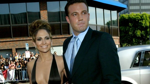 "Jennifer Lopez and Ben Affleck (pictured in July 2003) - ""If you wrote it now, you would literally be fired for saying those things you said"""