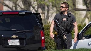 Gunshots were heard in the US Capitol visitors centre