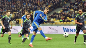 Andriy Yarmolenko scored the only goal of the game