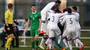 Ireland Under-21s lost 4-1 to Italy