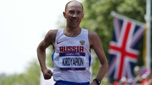 Sergey Kirdyapkin was just one of the Russian athletes stripped of Olympic medals in recent months