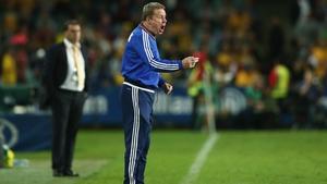 Harry Redknapp managed Jordan for two games