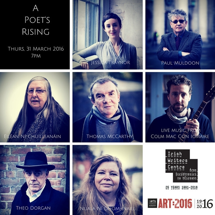 """A Poets Rising"" at the Irish Writers Centre"