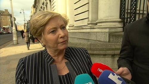 Frances Fitzgerald said she will be asking the govt to approve the emergency legislation