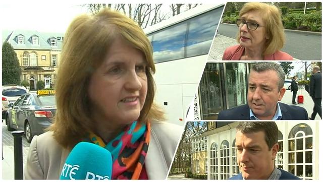 Party leader Joan Burton is under pressure