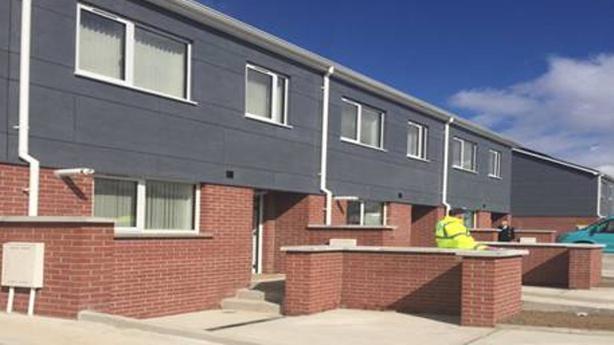Modular homes already built in Ballymun