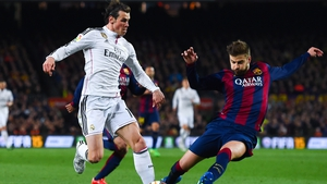 Gareth Bale is targeting a win at the Nou Camp this weekend