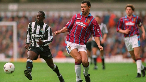 Paul McGrath made 252 appearance for Aston Villa from 1989-1996