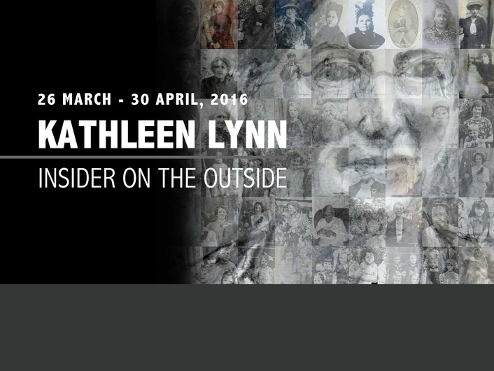 "The exhibition ""Kathleen Lynn: Insider on the Outside"""