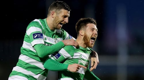 Brandon Miele proved influential, yet again, for Shamrock Rovers