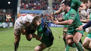 Ulster captain Rory Best was on the scoresheet against Connacht in the 18-10 victory at Kingspan Ravenhill