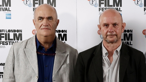 Colm Tóibín with Nick Hornby pictured at last year's London Film Festival