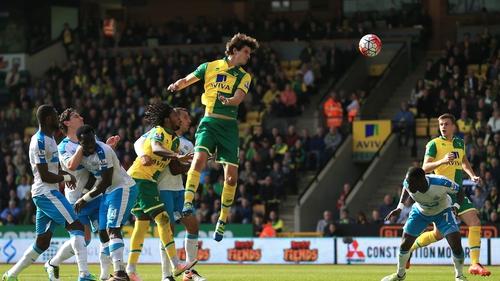 Timm Klose of Norwich City