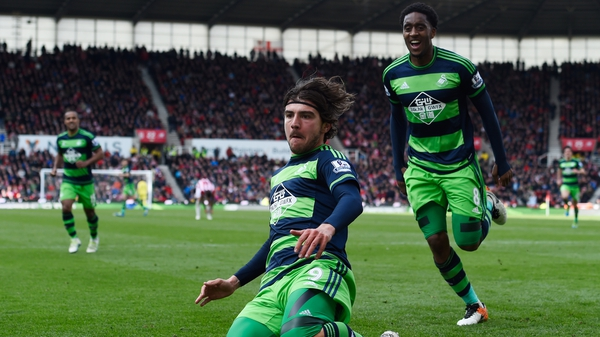 Alberto Paloschi was on hand to rescue a point for Swansea
