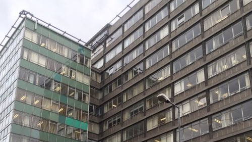 The building was constructed in 1962 and is currently home to the Department of Health
