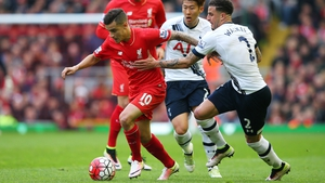 Philippe Coutinho could return to the Liverpool line-up