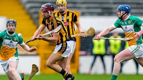 Kevin Kelly fires home Kilkenny's first goal