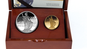The new coins to mark the Proclamation of the Irish Republic are available to buy from today