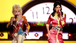 Dolly Parton with Katy Perry