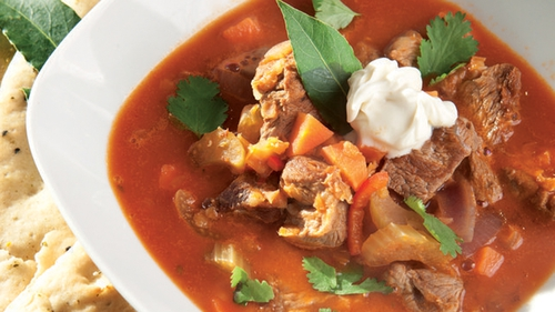 Catherine Fulvio's Lamb Curry Soup