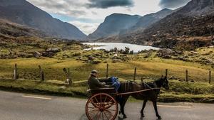 The jaunty cart, Gap of Dunloe, Co Kerry (Pic: Jeff McCarthy)